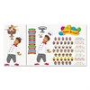 Happy Birthday Bake Shop Bulletin Board Set, 93 pieces