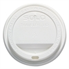 Cup Company Traveler Drink-Thru Lid, 12-16oz Hot Cups, White, 50/Pack, 6 Packs/Carton