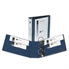 "Avery Heavy-Duty View Binder w/Locking 1-Touch EZD Rings, 3"" Cap, Navy Blue"