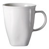 Chef's Table Fine Porcelain Coffee Mugs, 16oz, White, 8/Box