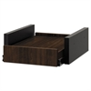 Hospitality Cabinet Sliding Shelf, 16 3/8w x 20d x 6h, Columbian Walnut