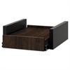HON Hospitality Cabinet Sliding Shelf, 16 3/8w x 20d x 6h, Columbian Walnut