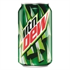 Mountain Dew Citrus, 12 oz Soda Can, 24/Carton