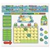 FUNky Frog Calendar Bulletin Board Set