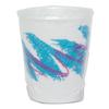 SOLO Cup Company Trophy Plus Dual Temp Cups, 9 oz, Jazz Design, Individually Wrapped, 900/Carton
