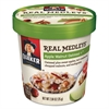 Quaker Real Medleys Oatmeal, Apple Walnut Oatmeal+, 2.64oz Cup, 12/Carton