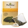 Whole Leaf Tea Pouches, Organic Mint Melange, 15/Box