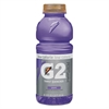Gatorade G2 Perform 02 Low-Calorie Thirst Quencher, Grape, 20 oz Bottle, 24/Carton