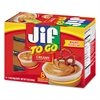 Jif To Go Spreads, Creamy Peanut Butter, 1.5 oz Cup, 8/Box