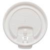 SOLO Cup Company Liftback & Lock Tab Cup Lids for Foam Cups, Fits 10 oz Trophy Cups, WE, 100/PK