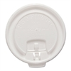 Liftback & Lock Tab Cup Lids for Foam Cups, Fits 12 oz Trophy Cups, WE, 100/PK