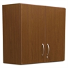 Alera Plus Hospitality Wall Cabinet, Two Doors, 36w x 14 3/16d x 29 3/4h, Cherry