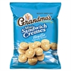 Grandma's Mini Vanilla Crème Sandwich Cookies, 3.71 oz, 24/Carton