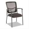EX Series Mesh Guest Chair, Black