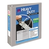 "Avery Heavy-Duty View Binder w/Locking 1-Touch EZD Rings, 2"" Cap, Gray"