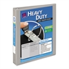 "Avery Heavy-Duty View Binder w/Locking 1-Touch EZD Rings, 1"" Cap, Gray"