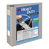 "Avery Heavy-Duty View Binder w/Locking 1-Touch EZD Rings, 3"" Cap, Gray"