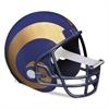"Scotch NFL Helmet Tape Dispenser, St. Louis Rams, Plus 1 Roll Tape 3/4"" x 350"""