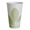 SOLO Cup Company Bare Eco-Forward Treated Paper Cold Cups, 12 oz, Bare Theme, Green/White,20PK/CT