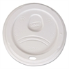 Sip-Through Dome Hot Drink Lids, Fits 20, 24 oz Cups, White, 1000/Carton