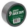 "Duck Basic Strength Duct Tape, 5.5mil, 1.88"" x 30yd, 3"" Core, Silver"