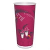 SOLO Cup Company Trophy Plus Dual Temperature Cups, 24 oz, Bistro Design, 600/Carton