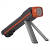 Fusion 3-in-1 Flashlight, LED, Black/Orange, 4 AA Batteries