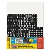 "Pacon Make-A-Poster Board Kit, 22"" x 28"", White, 143 Letters/Numbers"