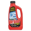 Drano Max Gel Clog Remover, 32oz Bottle, 12/Carton