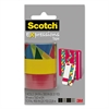 "Scotch Expressions Magic Tape, 3/4"" x 300"", Assorted Stained Glass, 3/Pack"