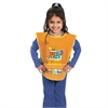 Chenille Kraft Kraft Artist Smock, Fits Kids Ages 3-8, Vinyl, One Size Fits All, Bright Colors