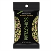 Paramount Farms Wonderful Pistachios, Dry Roasted & Salted, 2.5 oz, 8/Box