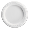 Boardwalk Hi-Impact Plastic Dinnerware, Plate, 6 Inches, White, Round, 1000/Case