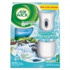 Air Wick Freshmatic Ultra Automatic Starter Kit, Fresh Waters, 6.17oz, 4/Carton