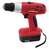 "Great Neck 18 Volt 2 Speed Cordless Drill, 3/8"" Keyless Chuck"