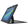 Leitz Privacy Cover with Stand for iPad 2, 3rd Gen and 4th Gen, Landscape, Black