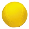 Champion Sports Coated Foam Sport Ball, Baseball, Official Size, Yellow