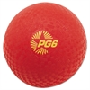 "Playground Ball, 6"" Diameter, Red"