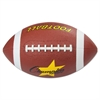 Champion Sports Rubber Sports Ball, Football, Official NFL, No. 9, Brown