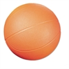 Coated Foam Sport Ball, Basketball, No. 3 Size, Orange