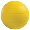 s Coated Foam Sport Ball, Volleyball, Yellow