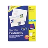 Avery Postcards for Inkjet Printers, 4 1/4 x 5 1/2, Matte White, 4/Sheet, 200/Box