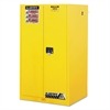 Sure-Grip EX Standard Safety Cabinet, 34w x 34d x 65h, Yellow