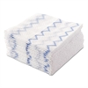 Disposable Microfiber Cloth Starter Kit, White/Blue, 240 Cloths w/Charging Tub