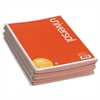 Universal Wirebound Message Books, 5 1/2 x 3 3/16, Two-Part Carbonless, 200-Set Book