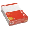 Colored Perforated Note Pads, 8 1/2 x 11, Gray, 50 Sheet, Dozen