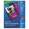 Avery Inkjet DVD Case Inserts, Matte White, 20/Pack
