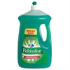 Palmolive Dishwashing Liquid, Original Scent, Green, 90oz Bottle, 4/Carton