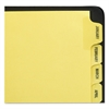 Preprinted Laminated Tab Dividers w/Gold Reinforced Binding Edge, 12-Tab, Letter