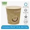 Evolution World 24% Recycled Content Hot Cups - 10oz., 50/PK, 20 PK/CT